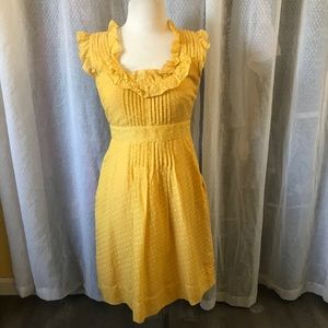 Sweet Summer Yellow Dress